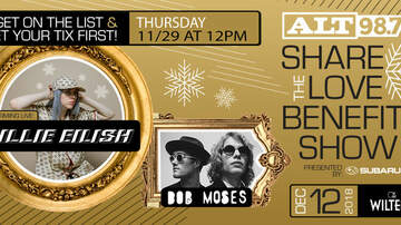 The Woody Show - ALT 98.7 Share The Love Event (12/12)