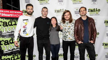 Miller Lite Mystery Show Blog - Bastille Meet + Greet Pics at our 2018 Miller Lite Mystery Show