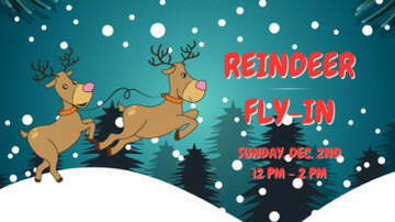 None - Join Z-104 at the Reindeer Fly- In on December 2 from 12-2PM