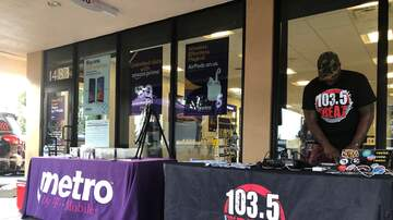 Photos - 103.5 The Beat at Metro PCS in Ft. Lauderdale