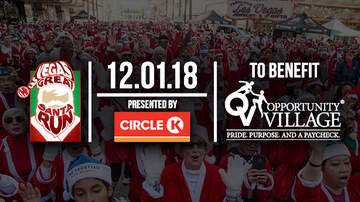 Buzzing - The Las Vegas Great Santa Run to benefit Opportunity Village