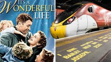 Klinger - It's A Wonderful Life Script Painted On Train Platforms For Mental Health