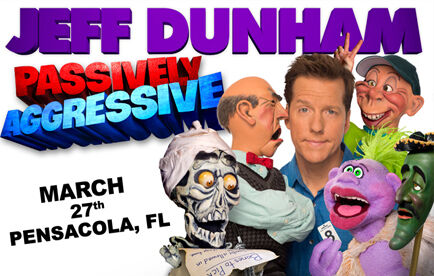 Win a Free Pair of Tickets to see Jeff Dunham!