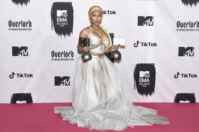 Nicki Minaj (Getty)