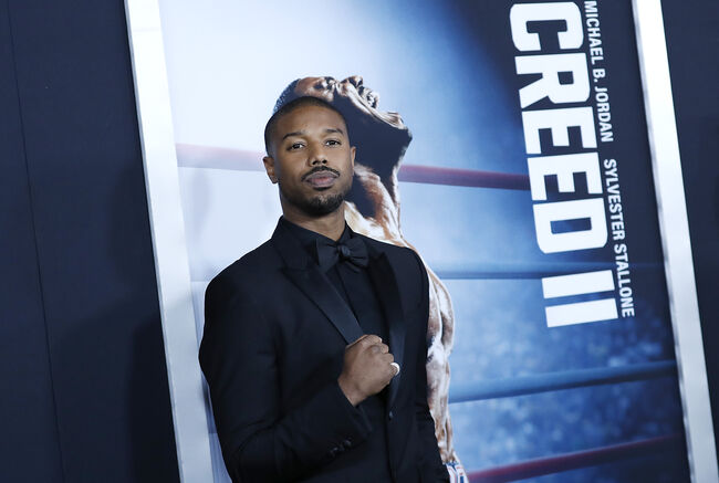 'Creed II' New York Premiere NEW YORK, NEW YORK - NOVEMBER 14: Michael B. Jordan attends 'Creed II' New York Premiere at AMC Loews Lincoln Square on November 14, 2018 in New York City. (Photo by John Lamparski/Getty Images)