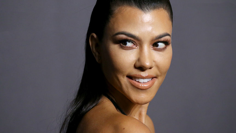 Photos: Kourtney Kardashian poses completely naked for her
