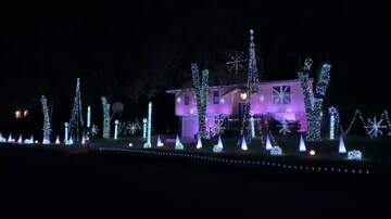 Kat Jackson - Crazy Christmas Light Display