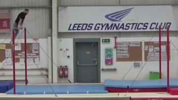 Stu - Gymnast Breaks a Guinness Record