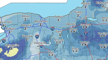 Syracuse Storm Center Blog - The Snow Has Tapered, But Still Expect More!