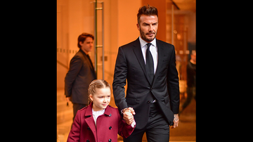 Johnjay And Rich - David Beckham Dad-Shamed Over 'Gross' Photo With His Daughter