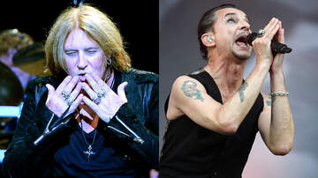 Ken Dashow - Def Leppard Reveal Music Video for Cover of Depeche Mode's Personal Jesus