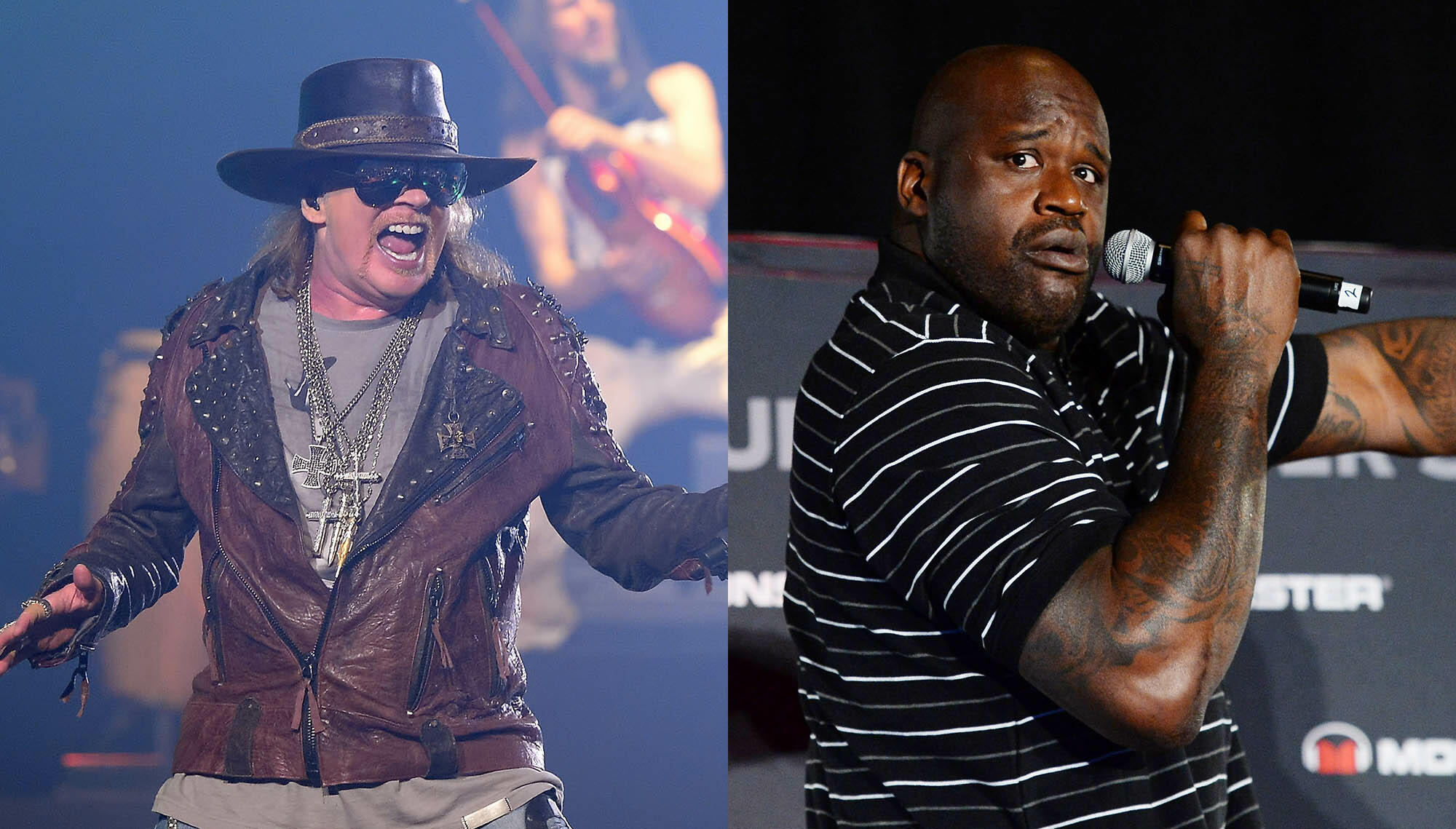 Shaq Jammed With Guns N' Roses During 'Chinese Democracy' Sessions