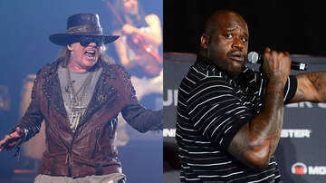 Jim Kerr Rock & Roll Morning Show - Shaq Jammed With Guns N' Roses During 'Chinese Democracy' Sessions