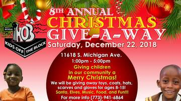 None - 8th Annual Christmas Give-A-Way