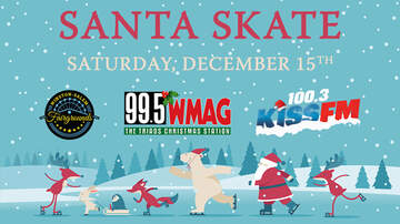 None - Skate with Santa at the Winston-Salem Fairgrounds