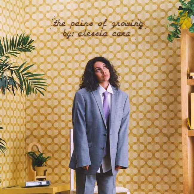 Alessia Cara - 'The Pains of Growing' Album Cover Art