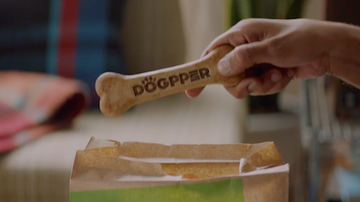 Katie Price - Burger King Introduces The Dogpper