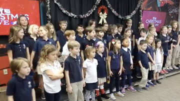 Christmas Live - Charles Towne Montessori School Performs