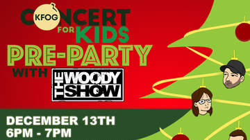 The Woody Show - Concert For Kids Woody Show Pre-Party (12/13)