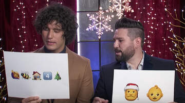 CMT Cody Alan - 'CMA Country Christmas' Performers Play Emoji Style Reindeer Games