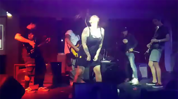 Gerry Martire Blog - Watch Filipino Metal Singer Suffer the Ultimate On Stage Fail