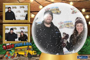 PHOTOS: Stuff-A-Bus Virtual Snow Globe