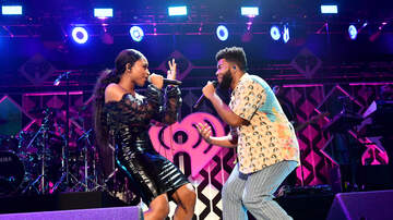 Jingle Ball - Khalid Brings Out Normani at KIIS FM's 2018 Jingle Ball: Watch