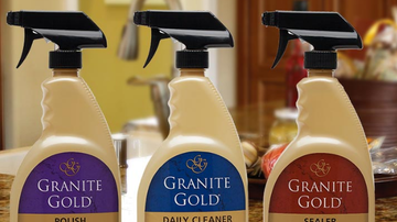 At Home with Gary Sullivan - Clean, polish and protect Granite!