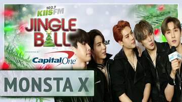 Jingle Ball - Monsta X Sings Their Christmas Song On The KIIS Jingle Ball Carpet