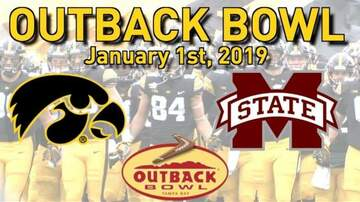 Home Of The Gators - Iowa Topples Mississippi State In Back And Forth Outback Bowl