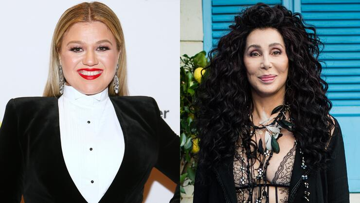 Watch Kelly Clarkson Freak Out Meeting Cher For The First Time