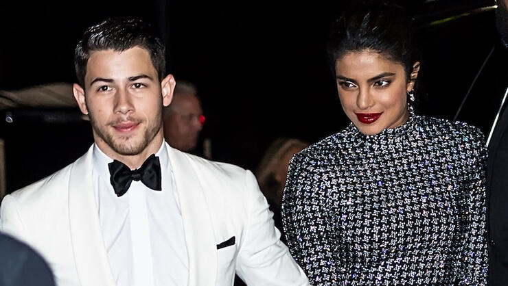 Nick Jonas & Priyanka Chopra Marry (Again!) In Traditional Hindu Wedding