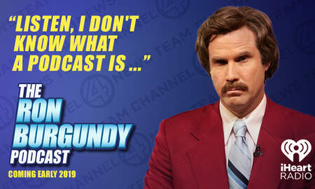 Sports - Ron Burgundy is Coming to iHeartRadio and It's Kind of a Big Deal