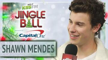 Mercedes-Benz Interview Lounge - Shawn Mendes' Advice on Starting a Music Career at KIIS Jingle Ball