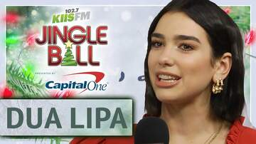 Mercedes-Benz Interview Lounge - Dua Lipa Reveals a Hidden Talent at KIIS Jingle Ball