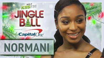 Mercedes-Benz Interview Lounge - Normani Gave Us a Date for Her New Project at KIIS Jingle Ball