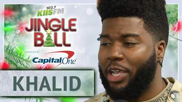 Mercedes-Benz Interview Lounge - Khalid Admits He's Still Shook at KIIS Jingle Ball