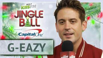 Jingle Ball - G-Eazy Says He's Beefing with 70-Year -Old Neighbors at KIIS Jingle Ball