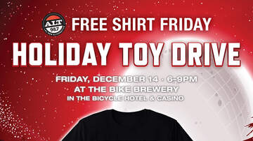 None - Free Shirt Friday Holiday Toy Drive