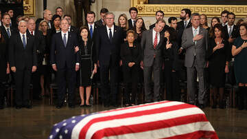 Politics - President George H.W. Bush Honored At The U.S. Capitol Rotunda