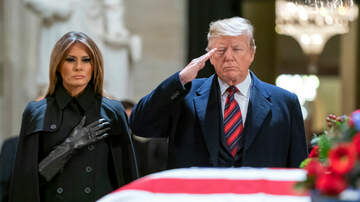 The Joe Pags Show - President Trump Pay Respects To Former President Bush