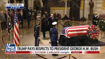 Michael Berry - President Trump Pays Respects to President Bush