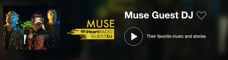 Muse Guest DJ