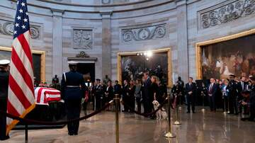 The Joe Pags Show - Mourners File Past Bush Casket At Capitol