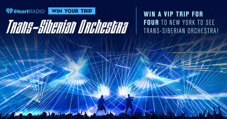 Enter here to win a VIP trip for four to see Trans-Siberian Orchestra