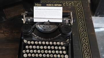 Joe Johnson - Hugh Hefner's Typewriter Went For Big Bucks At Auction