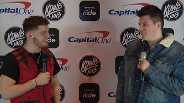 Colt - WATCH: Colt Talks Relationships With Bazzi at KDWB Jingle Ball
