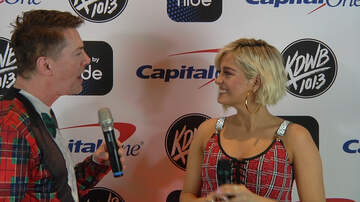 Jingle Ball - WATCH: Dave Ryan Talks Candy, Lyrics & Dating with Bebe Rexha