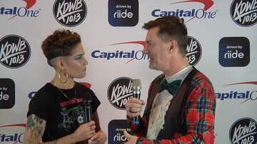 Dave Ryan - WATCH: Dave Ryan and Halsey Backstage at KDWB Jingle Ball