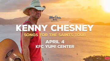 None - TWO chances to Win Kenny Chesney Tickets!